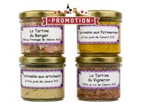 Lot de pâtés<br>tartinable - 400 gr