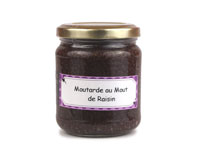 Moutarde au Mout de Raisin - 200 gr