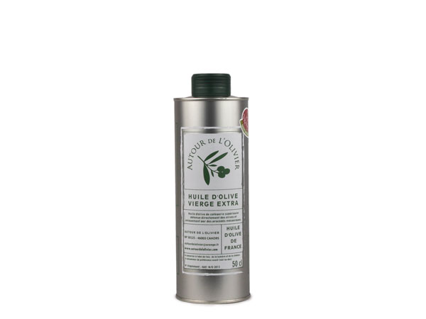 Huile d'olive vierge extra<br>goût intense - 50cl